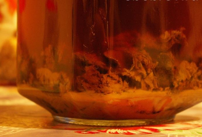 Настойка на спирту - Приготовление